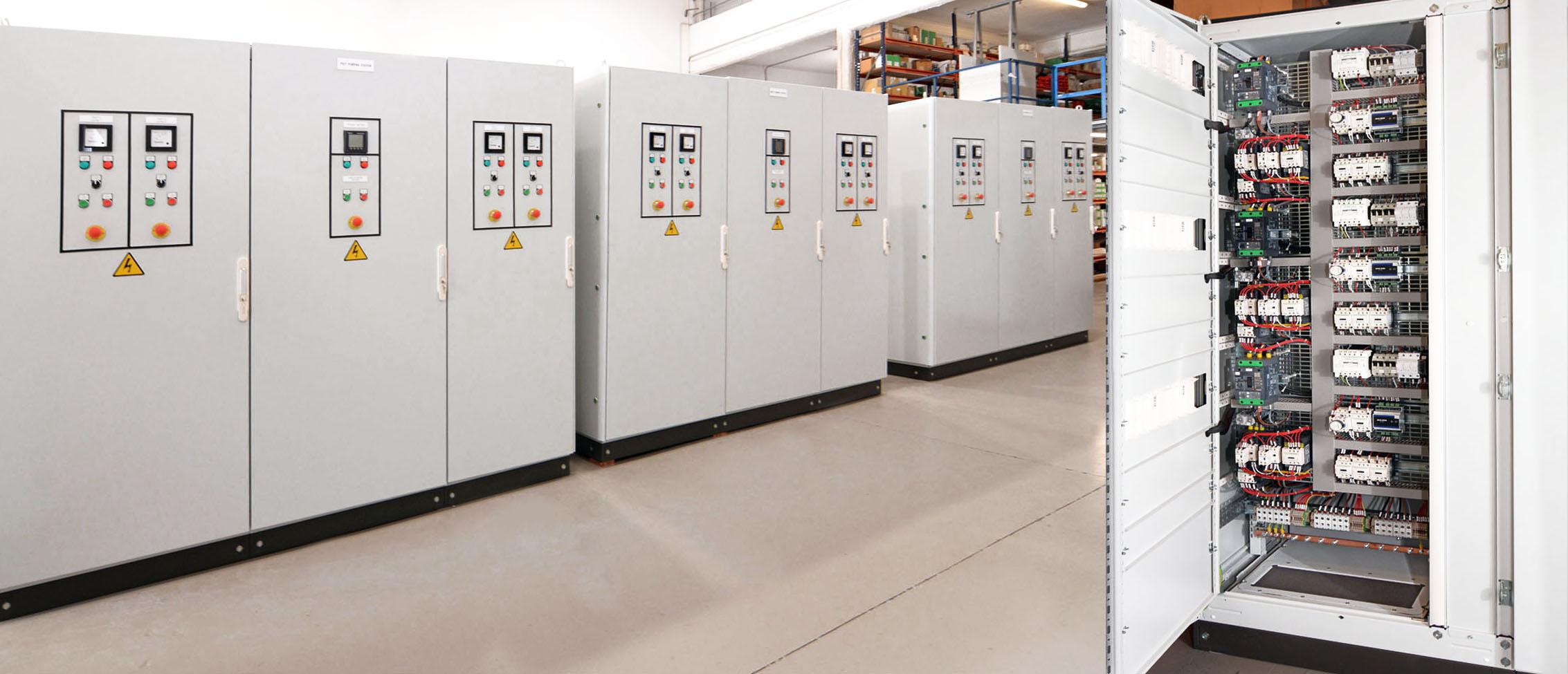 Cuadristas eléctricos industriales en Barcelona