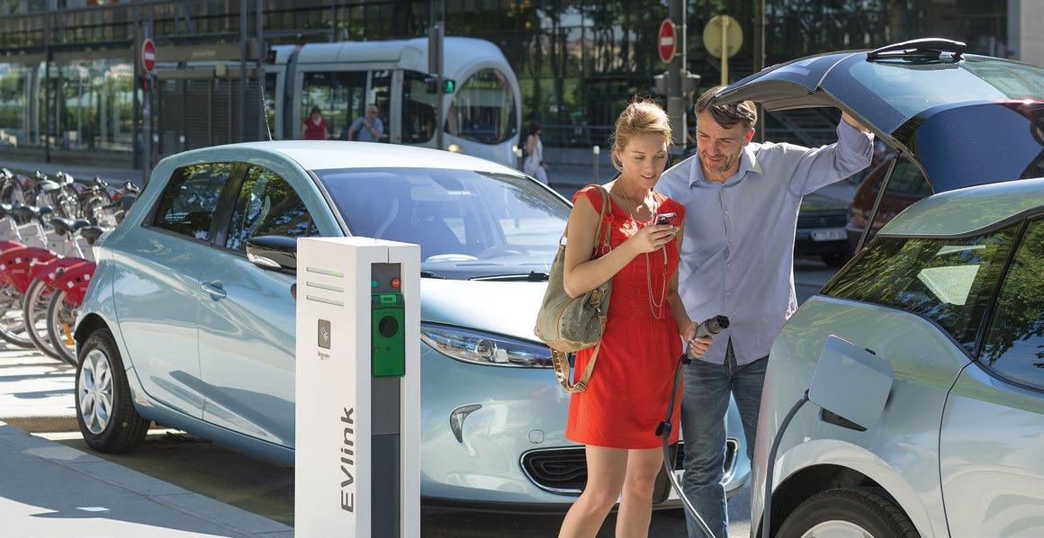 Cuadros recarga vehículos eléctricos